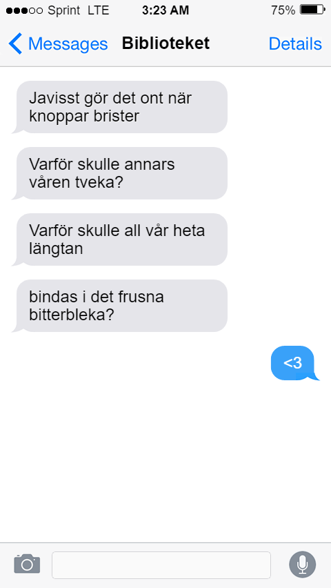 Sms-poesi